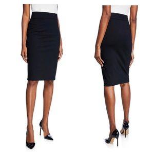 Express High Waisted Black Pencil Skirt